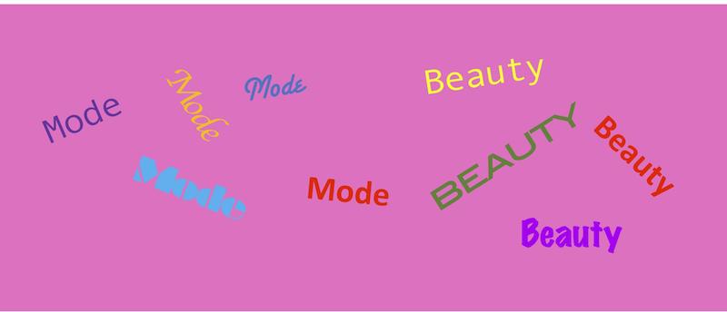 Mode und Beauty oder Frauen wollen dann doch alles so wie immer