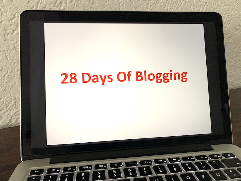 28 Days of Blogging – Eine Challenge im Februar